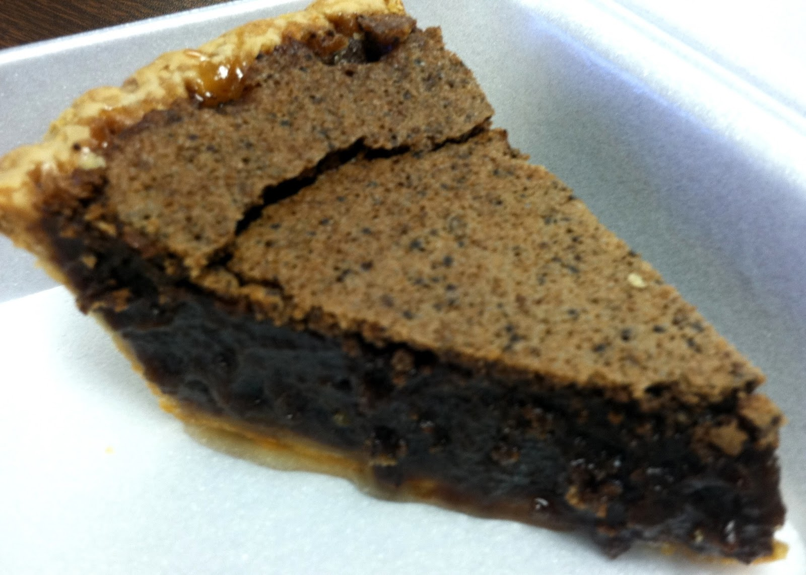 Chocolate Chess Pie - Dark, rich, velvety ooey-gooey chocolate