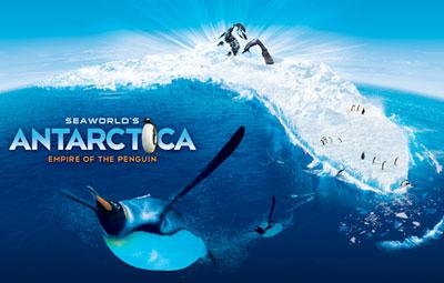 Antarctica in SeaWorld Orlando