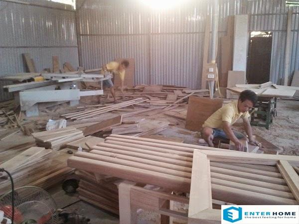 Xưởng gỗ nội thất đẹp rộng