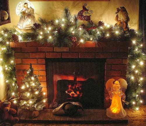 Decoracion de chimeneas para navidad parte 4 - Adornos de chimeneas ...