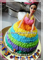 Class DIY Barbie Doll Cake