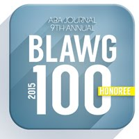 2015 ABA Journal Blawg 100 Honoree