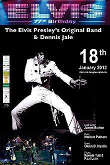 La banda original de Elvis Presley actuará en Marbella el 18 de enero