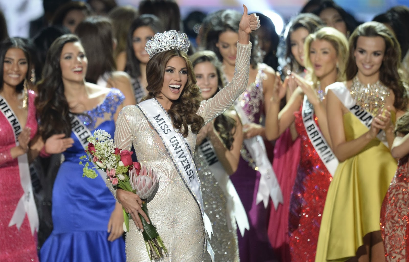 the 2013 Miss Universe competition in Moscow on November 9, 2013