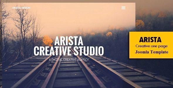 One Page Joomla Bootstrap Template 2015