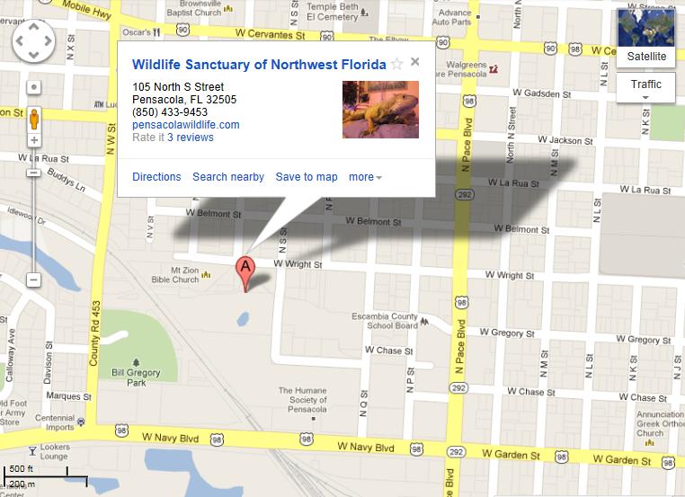 to Live in Pensacola, Florida: Family Fun in Pensacola ... Downtown Pensacola Map on