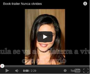 """Book-trailer """"Nunca olvides"""""""