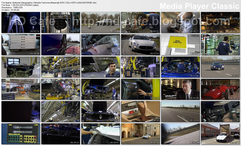 Ultimate Factories Maserati video thumbnails
