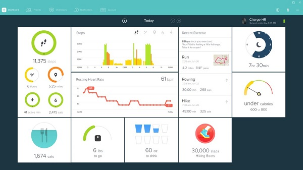 Fitbit launches Windows 10 universal app