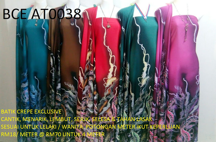 BCE AT0038: BATIK CREPE EXCLUSIVE