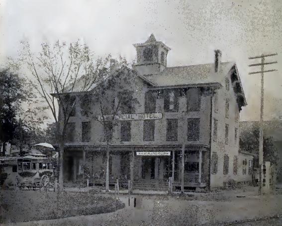 Commercial Hotel Somerville Nj 1891