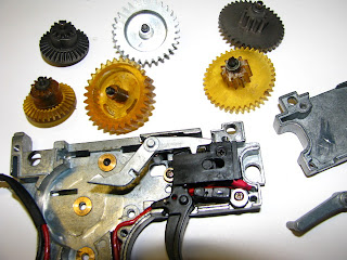 Repairing and upgrading airsoft guns