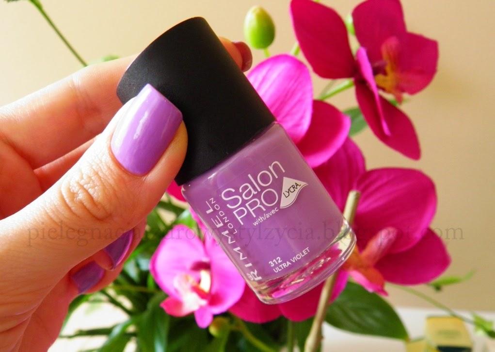 Fiolet idealny - Rimmel Salon Pro 312 Ultra Violet