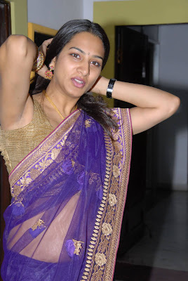 surekha vani spicy half saree