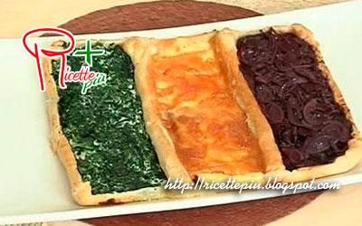 Torta Italia Salata Tricolore di Cotto e Mangiato