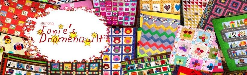 Quilts voor zieke kinderen maken of aanvragen? Klik dan hier!