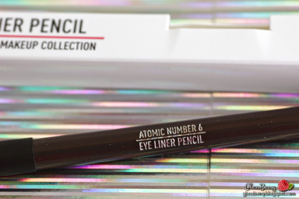 sigma eye liner pencil atomic number 6 review swatches