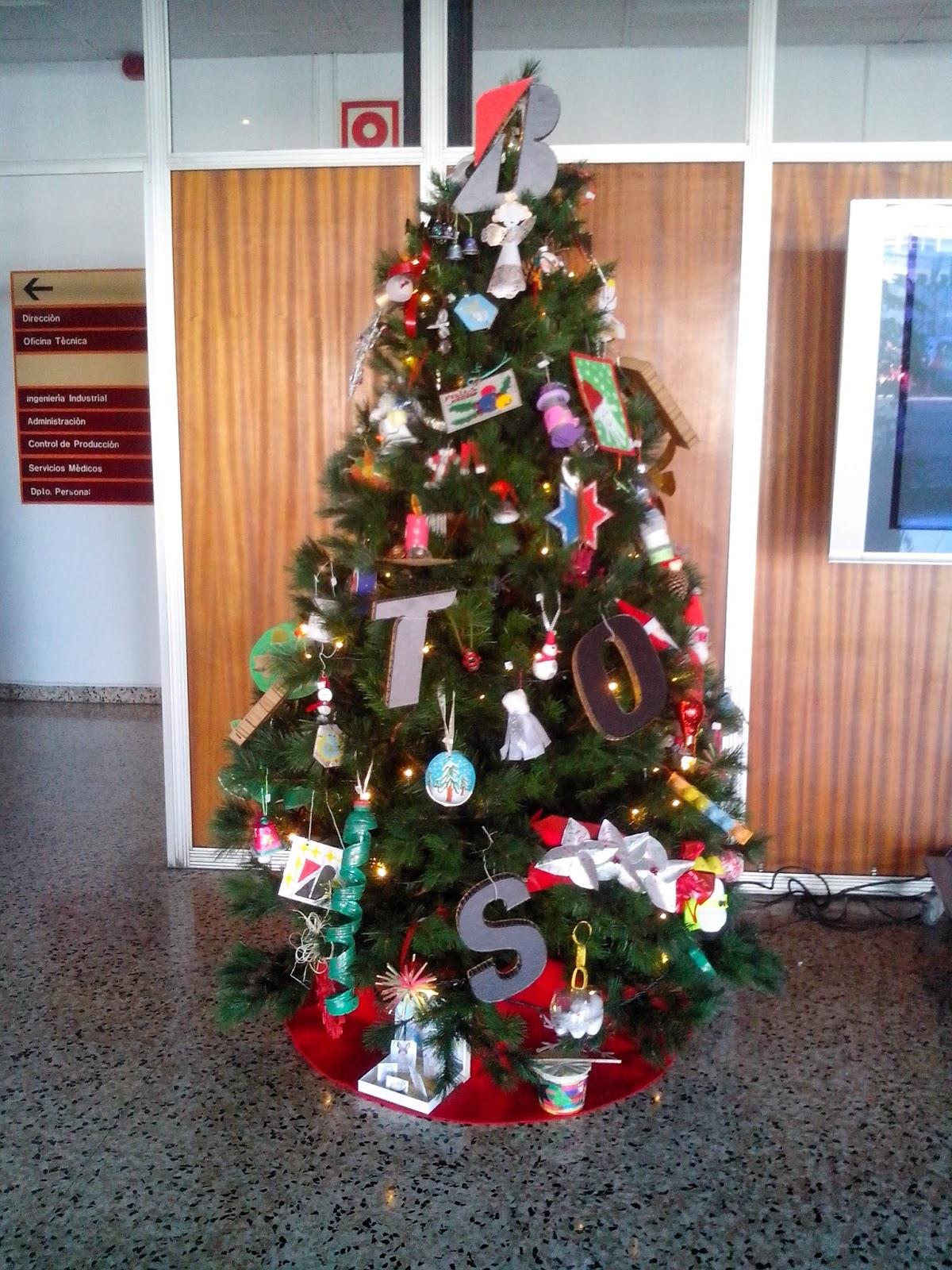 Disfrutando adornos de navidad reciclados fiesta de for Adornos arbol navidad online