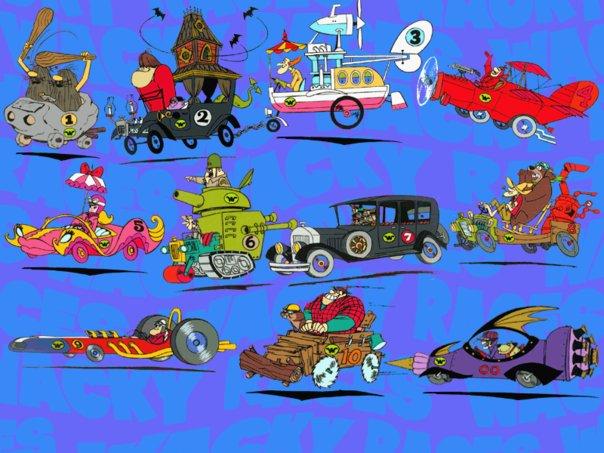 Imagenes de dibujos animados: Autos Locos
