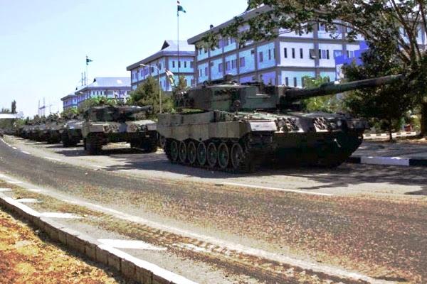 Armada MBT Leopard TNI-AD. PROKIMAL ONLINE Kotabumi Lampung Utara
