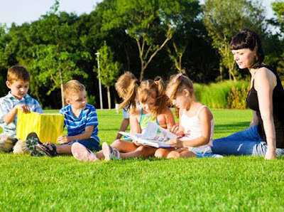 лятна читалня на открито в пловдив за деца