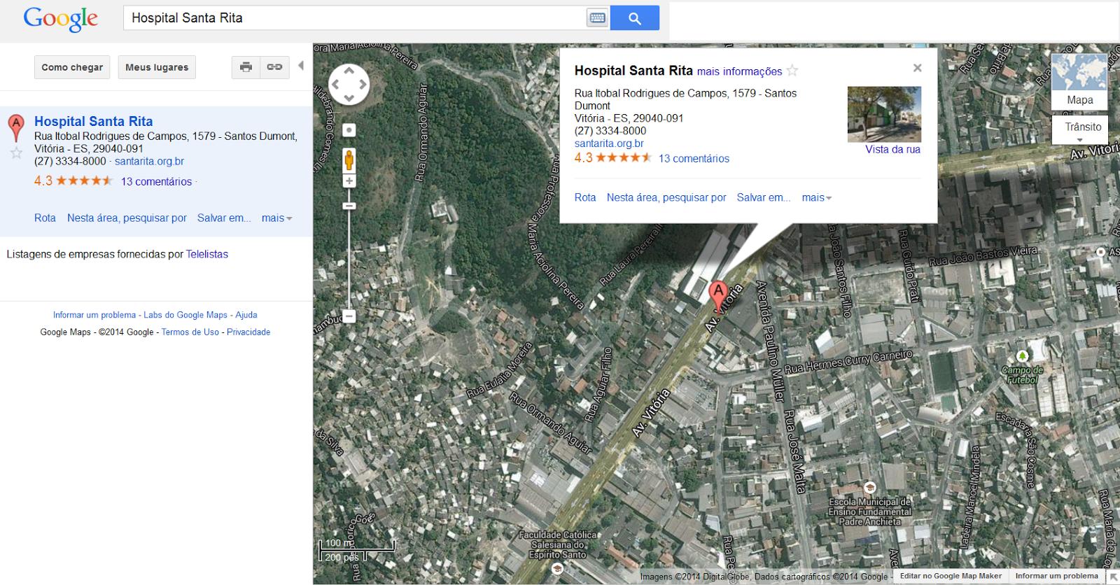 https://maps.google.com.br/maps?oe=utf-8&client=firefox-a&ie=UTF-8&q=Hospital+Santa+Rita&fb=1&gl=br&hq=hospital+santa+rita&hnear=0xb83d5d85374ee9:0x97595e7ea70ed809,Vit%C3%B3ria+-+ES&cid=9363191092163106538&ei=KDfwUpy9O4XskQeO-IHADA&ved=0CJYBEPwSMAs