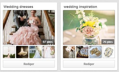 Følg os på Pinterest