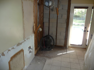 master bathroom during renovation