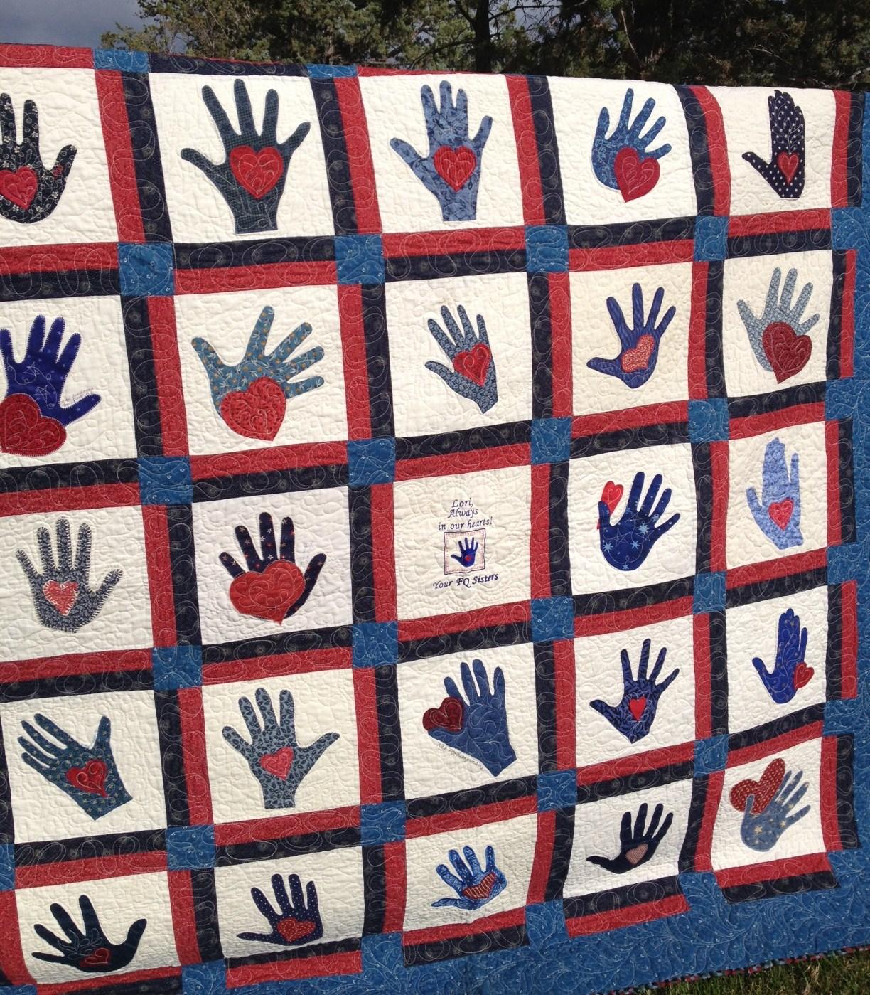 Humble Quilts: Sentimental Quilt : quilting hands - Adamdwight.com