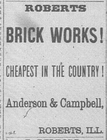 Anderson & Campbell 1876 Ad