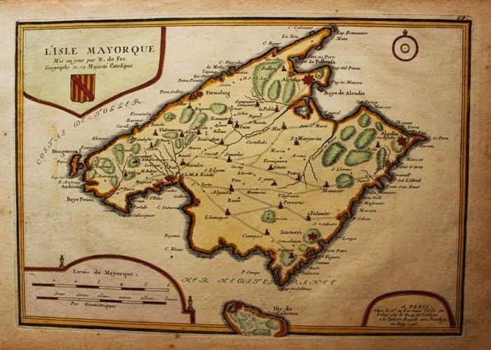 L'Isle Mayorque de De Fer