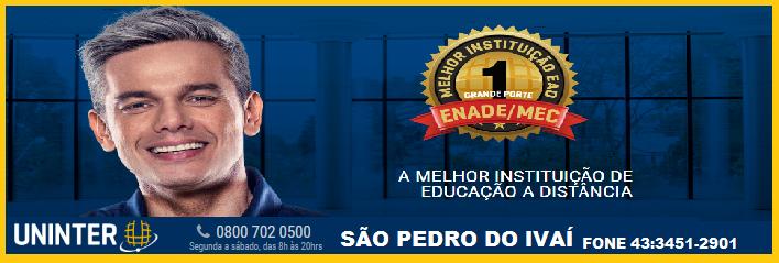 UNINTER EM SÃO PEDRO DO IVÁI