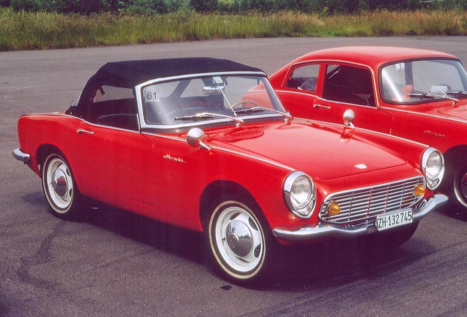 Rare Car of Honda S500...