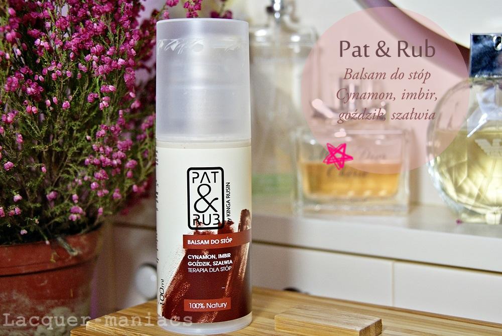 Cynamon, imbir, goździk i szałwia - aromatycznie z Pat&Rub