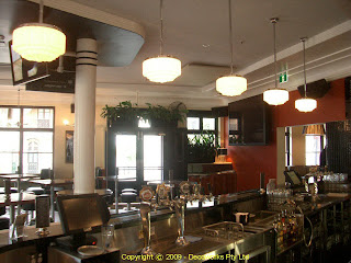 Main bar of the light brigade