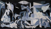 """ which hangs in the Museo Reina Sofia in Madrid. picasso guernica"