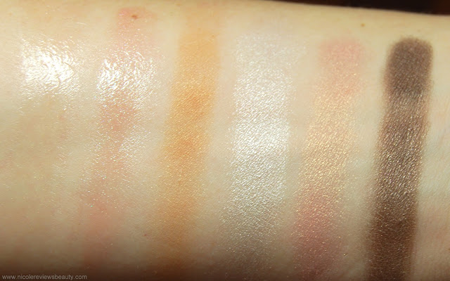 Dior 'Au Natural' Nude Look Palette Swatches