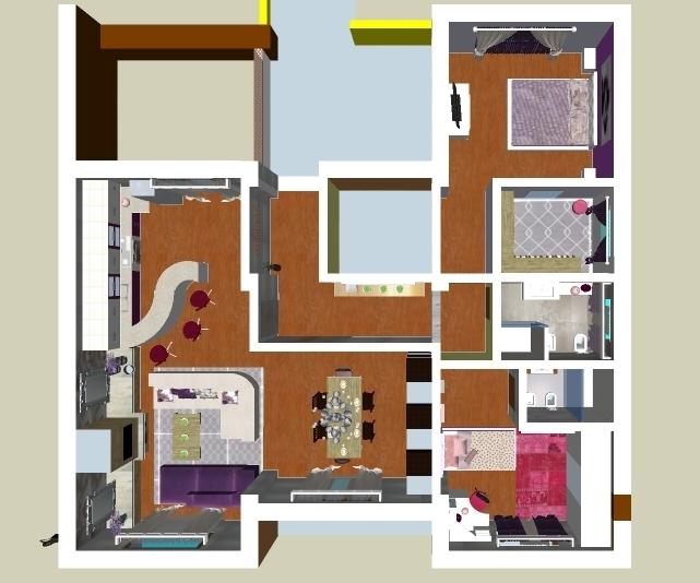 itluverncom salotto con camino incassato e parquet interior design