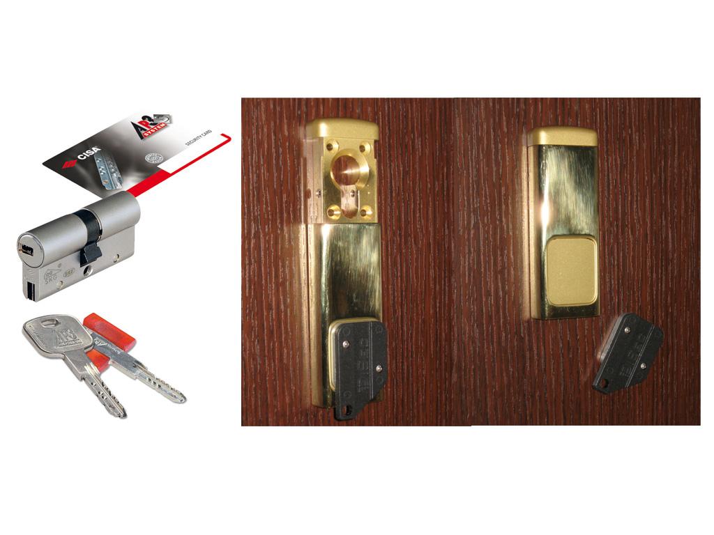 Costo serratura europea porta blindata good serrature for Tirelli porte milano
