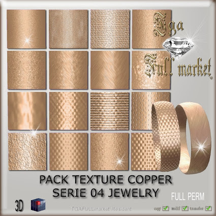 TEXTURE COPPER SERIE 04 JEWELRY