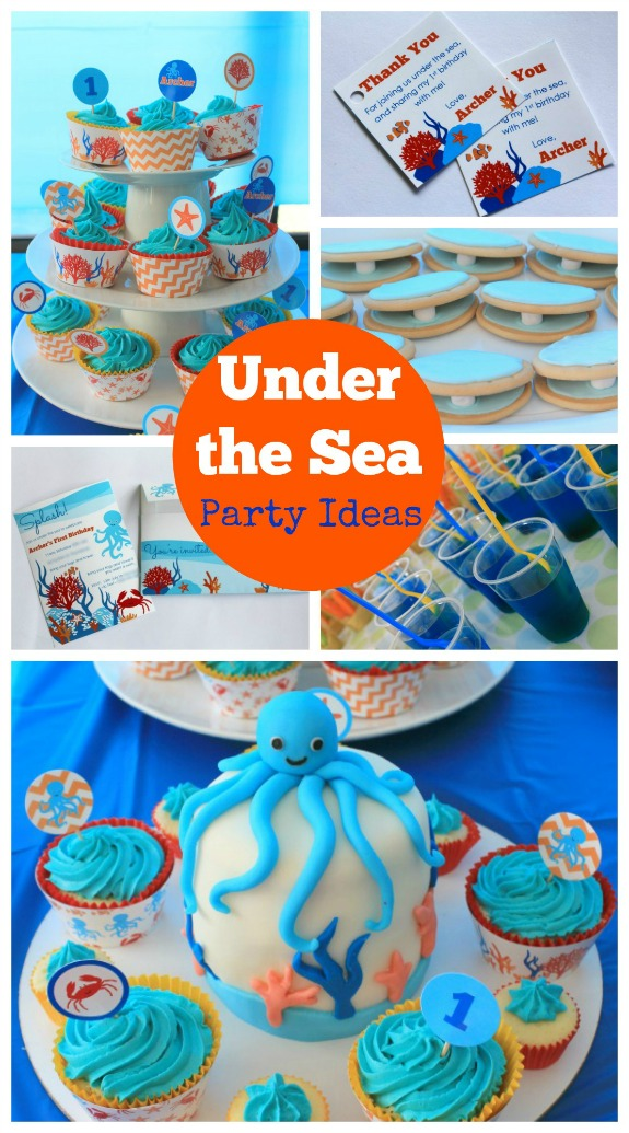 Start Planning an Under the Sea Party!