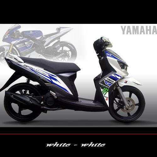 Modif Warna Motor Mio Soul Gt