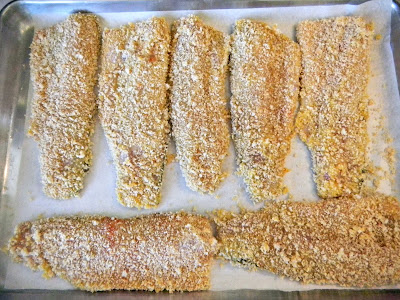panko crusted trout