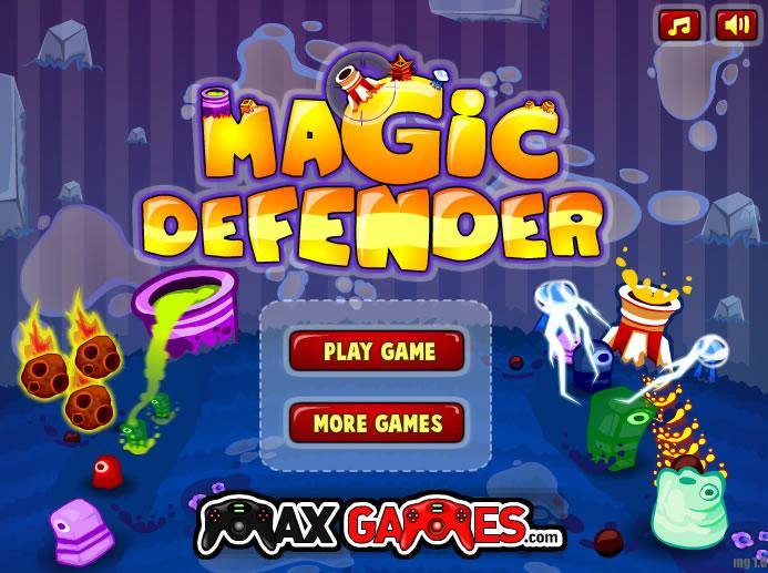 Unblocked Game : Magic Defender