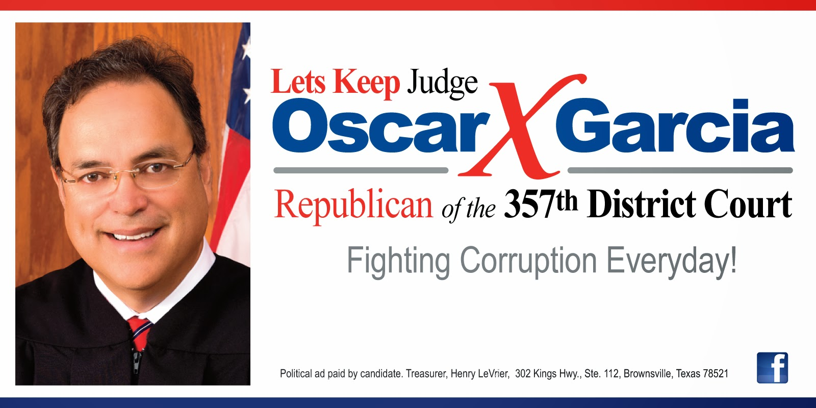 KEEP OSCAR JUDGE AT 357TH DISTRICT COURT