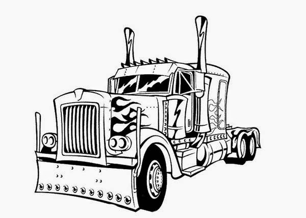 coloring pages transformers optimus prime printable - Optimus Prime Face Coloring Pages