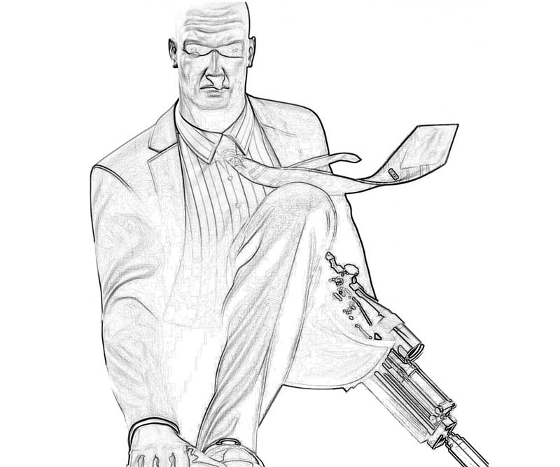 sniper coloring pages - photo#24