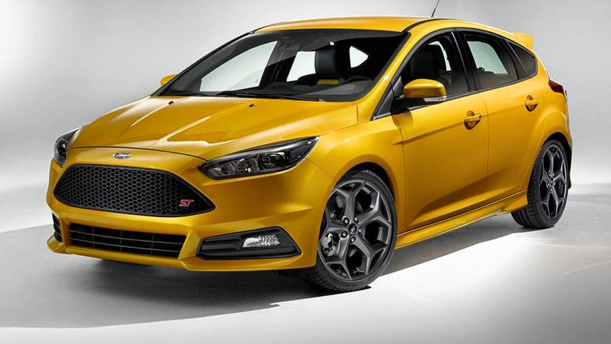 Meet the 2015 Ford Focus ST