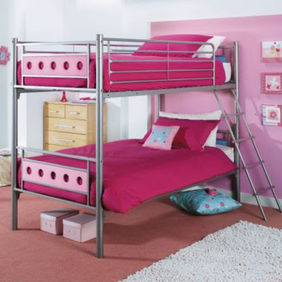 Choose Pink Bunk Beds For Girls