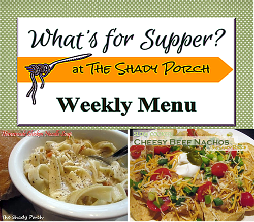 What's For Supper: Menu December 1, 2014
